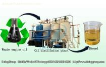 Indian customers ordered a 10T/D new type waste oil distillation machine