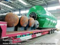 How does used tyre pyrolysis plant work ?