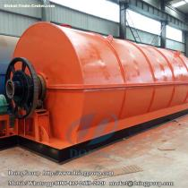 What does the waste tyre pyrolysis plant cost?