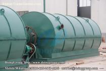 Continuous plastic pyrolysis plant Shipped to Bangladesh
