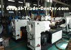 Double Strands Plastic Pipe Extrusion Line, High Output PVC Pipe Production Line