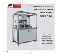 Automatic Facial Mask Folding Machine Packaging Machine in Custom Folding Cartons For Pouches