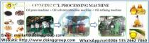 DOING Brand cooking oil processing machine production plant