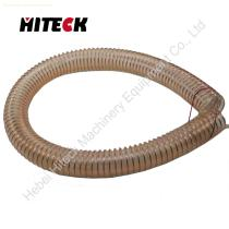 Bendable ventilation polyurethane vacuum suction hose