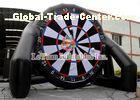 Interactive Game Inflatable Football / Soccer Darts With 0.6 Mm Tarpaulin