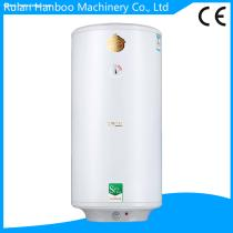 Vertical electric water heater with enamel tank for shower