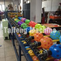 Balloon silk screen printing machine