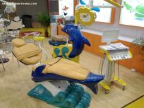 Lovely dolphin design Dental Chair just for children