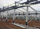 Industrial Light Steel Prefabricated Workshop Buildings Q345B / Q235B Customized Size