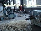 PE PP PVC EVA PA Corrugated Tube Machinery /  Plastic Pipe Machine