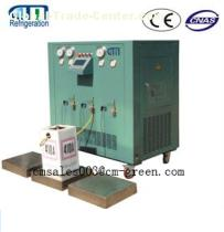 Multiple stage refrigerant subpackage system CM20