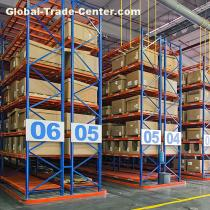 Steel Structural Pallet Warehouse Racking Galvanized