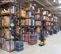 Drive In Pallet Racking System for Logistics Centers