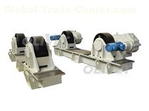 200T Capacity Adjustable Turning Rolls  Adjustable Turning Rolls - HGK Series