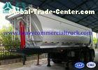 45 Ton U Shape Tipper Semi Trailer Front Tipping With 12R22.5 Tubeless Tire