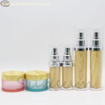 Set Luxurious Cosmetic Lotion Body Pump Spray Bottle