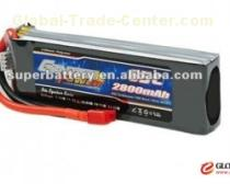 Hunger promotion 11.1v rc lipo battery 2800mAh lithium polymer battery cells pack