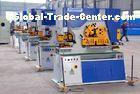 60 Ton Steel Hole Punching Hydraulic Ironworker , Q35Y - 16 Cutting And Shearing Machine