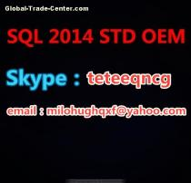 SQL 2014 STD OEM New genuine 100 % activation key /COA/ packaging/retail/wholesale