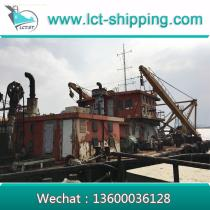 Cutter Suction Dredger with 39.37inch diameter Pipe