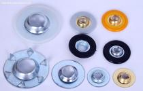 Quick Change Disc Metal Button