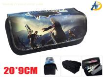 Final Fantasy Game Canvas pencil bag
