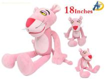 Pink Panther anime plush doll,wholesale anime plush dolls