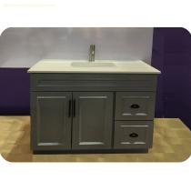 Glass top Bath cabinet LW-BV002