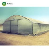 High tunnel hot dip galvanized steel arch pipe greenhouse frame for USA