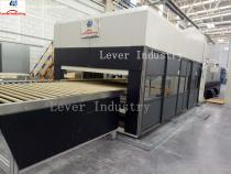 Automotive Rear Glass Tempering Furnace / double curvature glass with moulds pressing