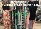 Used women's clothing , second hand summer clothes , ladies silk dress with good price