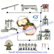 Durable cassava starch extraction machine professional cassava starch making machine widely used in Africa