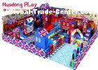 Naughty Indoor Playground Equipment , Large Size Indoor Playroom Equipment Castle