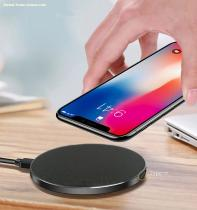 Type C Dual Port Portable Wireless Charger Fast Charging Pad