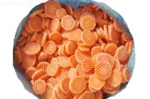 IQF Carrot Wave Slices