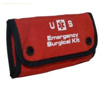 military standard 600 Denier Nylon Tri-Folding Snapped Pouch DH9120 Emergency Surgical Kit