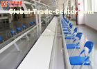 Aluminium Assembly Line Conveyor LED Light Assembly Line Equipment With PVC Conveyor Belt