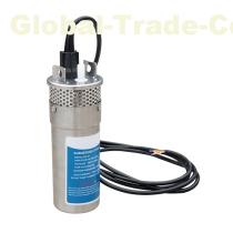 "ECO-WORTHY 24V DC Solar Pump 4"" Bore Hole Submersible Water Pump 3.2GPM Stailess 70M Head"
