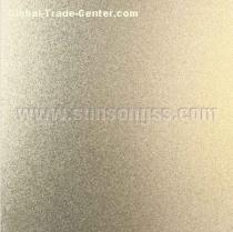 Bead Blasted Brass Stainless Steel Sheet