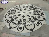 Marble Floor Water Jet Designs