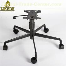 Black aluminum 5 star base for office/gaming/executive/swivel/boss chair