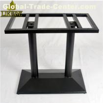 Antique cast iron table base for dining restaurant granite marble patio table with low price