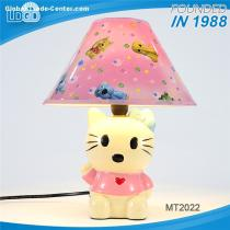 Manufacturer Supply modern design home hotel decorative table lamp cute kids ceramic table light made in china
