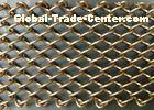 Beautiful Metal Mesh Drapery Flame Resistant For Room Divider / Decoration