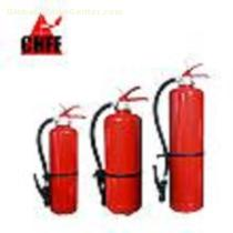 dry powder fire extinguisher (with internal gas cartridge )