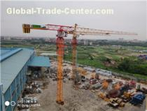 QTP200(TCT7516) China Building  Self Erecting FIxed Hydraulic Tower Crane