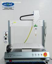 SEC-300EDS-N Servo motor CE certified XYZ SMD SMT Assembly epoxy silicone glue dispensing robot machine