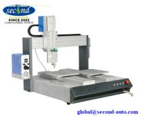SMT SMD assembly Double Y axis two working tables Desktop Automatic silicone glue dispensing robot machine SEC-540EDY