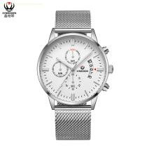 XINBOQIN Manufacturer Custom LOGO Brands Business Vogue New Latest Design High Quanlity Stainless Steel Man Watch