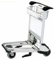 X320-LG6 Airport luggage cart/baggage cart/luggage trolley